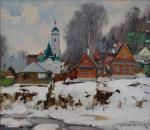 Ples. The district. Spring. Shevchuk Vasiliy
