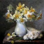 Картины на тему «Нарциссы»