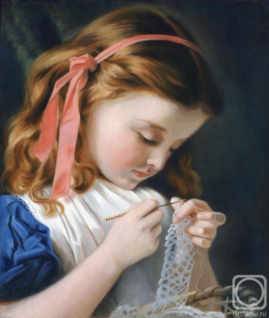 Девушка рукодельница фото