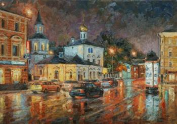 Razzhivin Igor. Color night streets