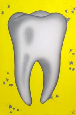 "Part of the triptych ""Healthy teeth"". Isaev Roman"