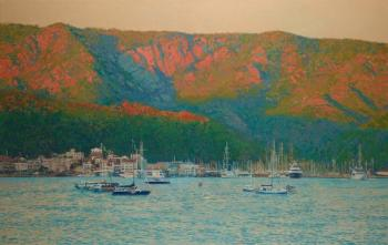 Evening in Marmaris. Turkey. Kozhin Simon