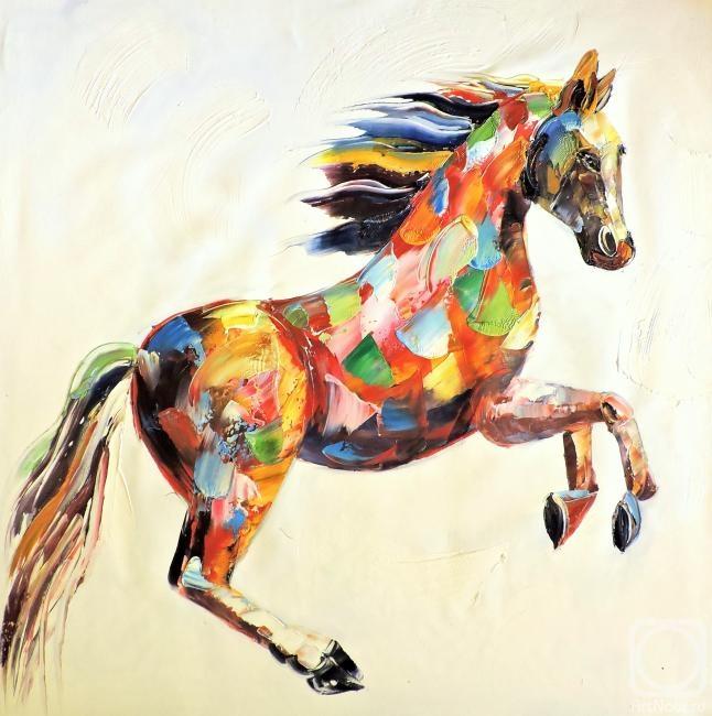 Бруно Тина. Лошадь
