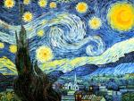 Starry Night. a copy of Van Gogh. Bruno Augusto