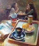 Рикун Ольга. В кафе