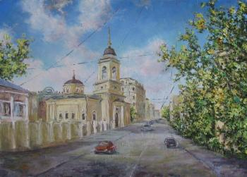 Church of Athanasius and Cyril On Sivtseff Ravine. Kruglova Svetlana