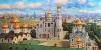 Razzhivin Igor. Gold-domed Moscow