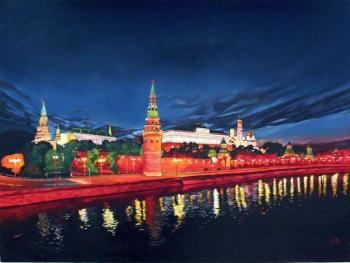 View of the Kremlin from the Stone bridge. Aronov Aleksey