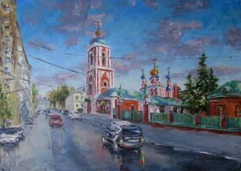 Kruglova Svetlana. Church of the Assumption of the Blessed Virgin in Gonchary