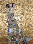 Waiting for a copy of a painting by Gustav Klimt. Zhukoff Fedor