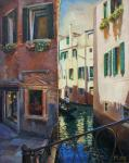 Mishuta Elena. Venetian evening