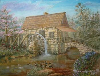 Kudryashovа Galina. Water Mill