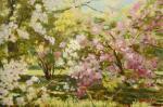 Яскин Владимир. Весна. В старом парке цветут яблони