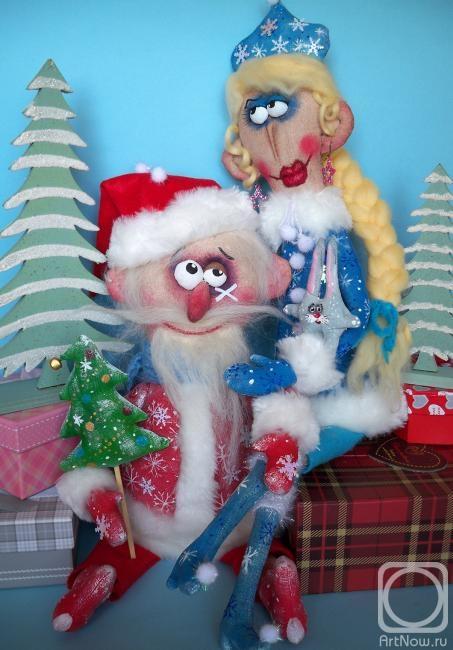 Дед мороз текстиль своими руками 537
