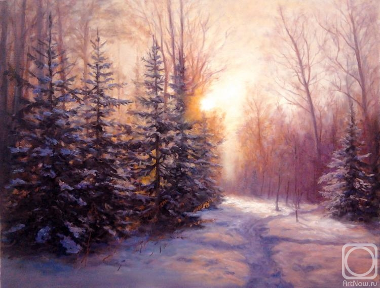 Майков зимнее утро картинки