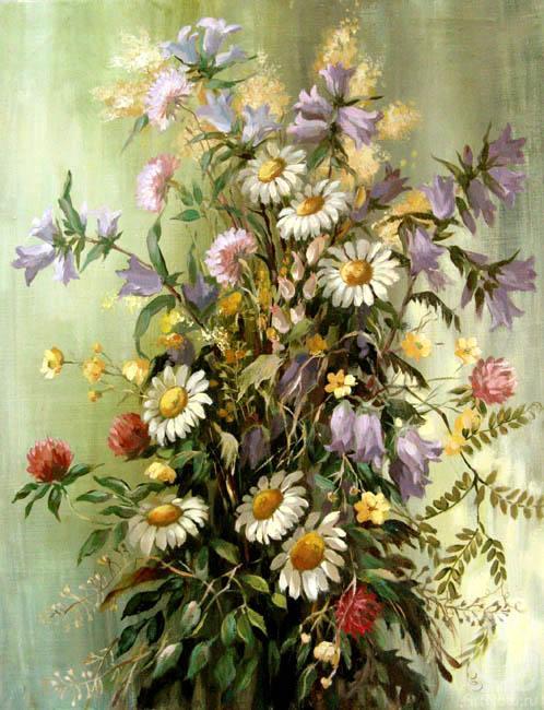 Ведешина Зинаида. Полевые цветы