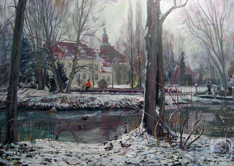 Лукьянов Виктор. Зимой в Клоппенбурге