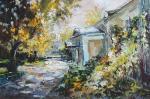 Чарина Анна. Осенний хмель. Двор в Хохловском переулке