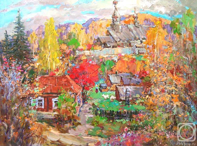 Мишагин Андрей. Осенний день высок и тих...