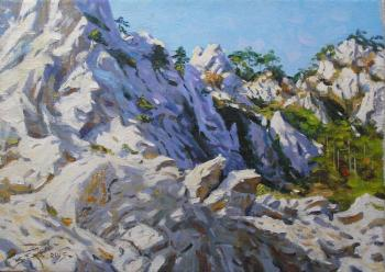 Er 1342 :: The White Rocks (Crimea, Ay-Petri). Ershov Vladimir