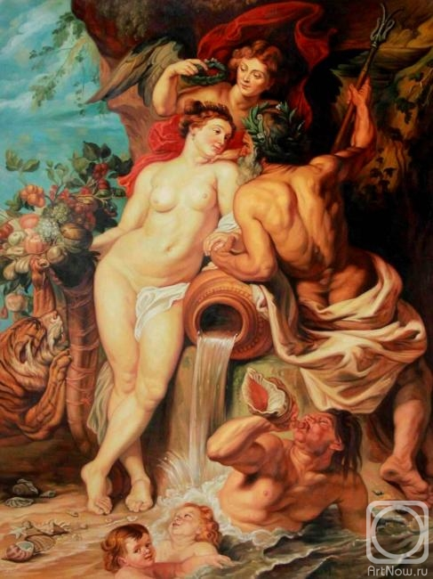 Smorodinov Ruslan. The Union of Earth and Water. copy P.P.Rubens