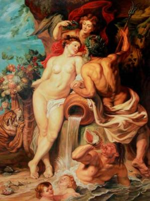 The Union of Earth and Water. copy P.P.Rubens