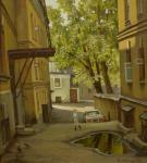 Двор в Печатниковом переулке