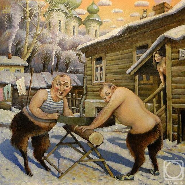 Андрианов Андрей. Зимние хлопоты панов