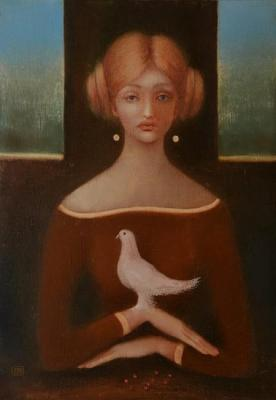 White Dove of Love. Zentsik Eduard