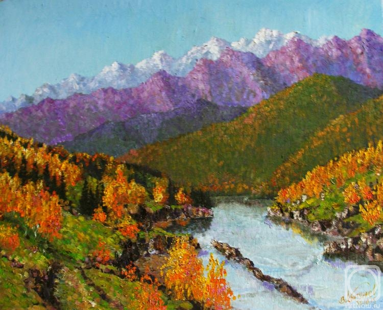 Konturiev Vaycheslav. Mountain autumn