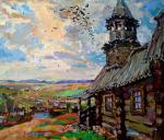 Мишагин Андрей. На высоком холме