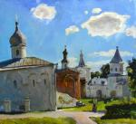 Melentev Anton. Churches of Novgorod