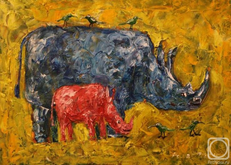 Rakhmatulin Roman. Blue Rhino