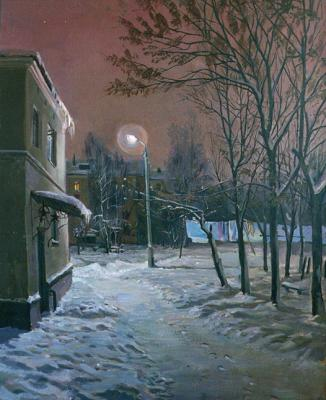 Loukianov Victor. Winter Night
