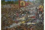 """Картина """",, ЗА РУСЬ СВЯТУЮ! ,, МОЛОДИНСКАЯ БИТВА. 1572 ГОД."""". Доронин Владимир"""