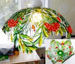 "Openwork lampshade ""August"" glass fusing"