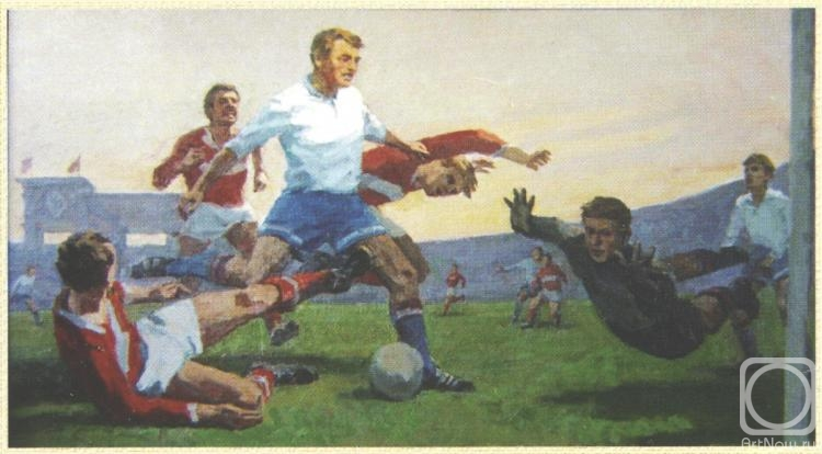 Rubinsky Pavel. Football. Dynamo 60-s
