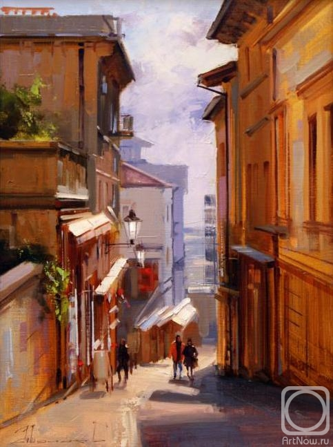 Shalaev Alexey. San Marino, January morning