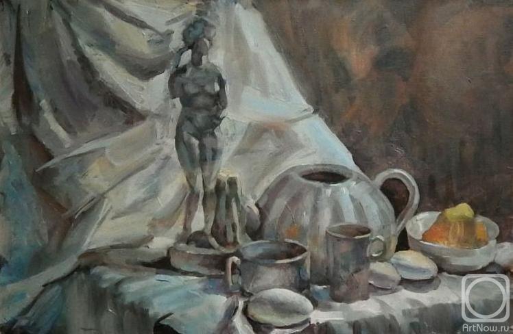 Силаева Нина. Натюрморт с Венерой
