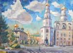 Силаева Нина. Москва. Кремль. Колокольня Ивана Великого