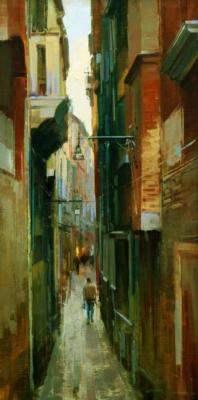 Shalaev Alexey. The narrow maze of Venice