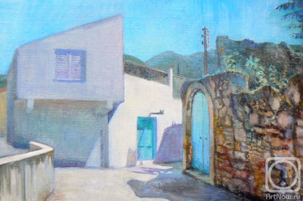 Malyusova Tatiana. Crete, the village