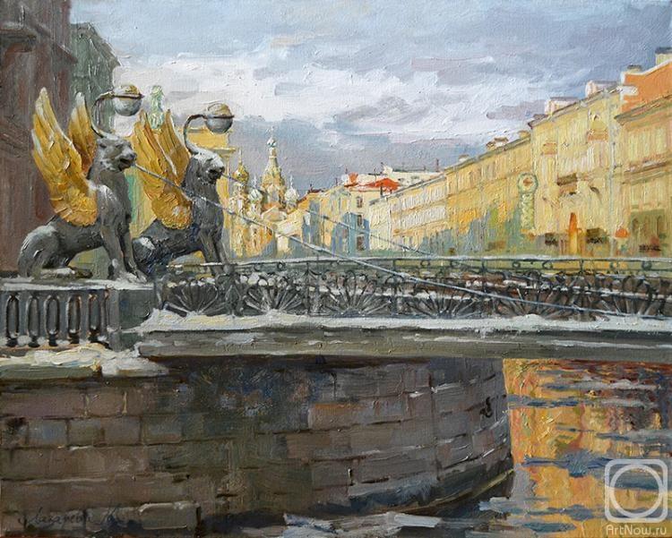 Лазарева Мария. Весна в северной Венеции