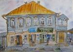 """М. Шагал """"Дом в Лиозно"""""""