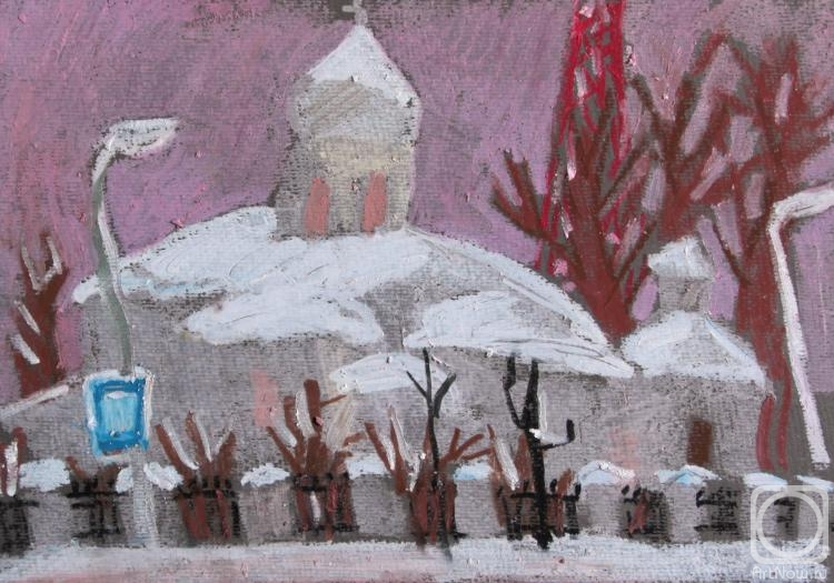 Ovchinnikova Alexandra. Winter in Great Novgorod