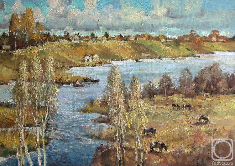Кремер Марк. На берегу реки Мсты