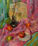 Pink still life. Chizhova Viktoria