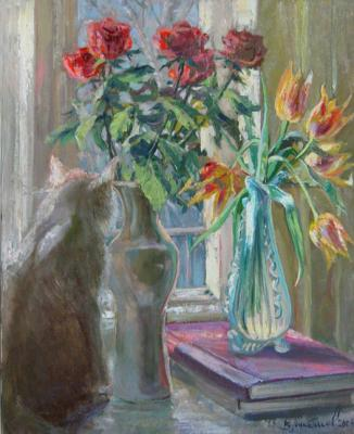 Loukianov Victor. The cat wishes to walk