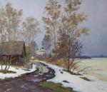 Alexandrovsky Alexander. Spring in Old Ladoga