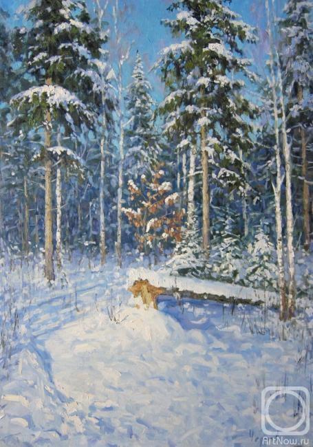 Чертов Сергей. В зимнем лесу